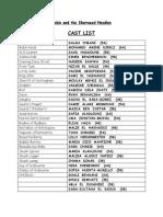 robin and the sherwood hoodies-cast list