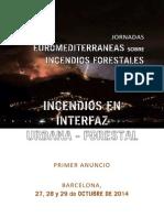 Jornadas Euromediterraneas sobre Incendios Forestales 2014