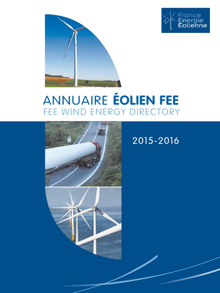 Annuaire Olien FEE Dition 2015 2016