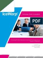 IceWarp Exchange Kerio Comparison(1)