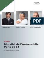 Reden, Mondial de l'Automobile, Paris, 02. Oktober 2014 .pdf