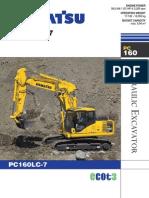 Komatsu PC160LC 7