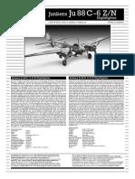 04856 #Bau Junkers Ju88c 6z n