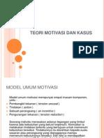 Teori Motivasi Dan Kasus