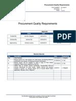 EC SM210 ProcurProcurement-Quality-Requirementsment Quality Requirements