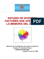 estudio de factores que afectan la memoria a color - Dolores de Fez Saiz.pdf
