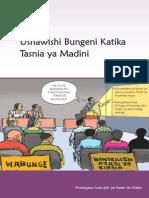 Ushawishi Bungeni katika Tasnia ya Madini