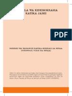 Utawala wa Kidemokrasia katika Jamii (Toleo la Tano)