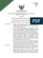 Peraturan Menteri Dalam Negeri Nomor 72 Tahun 2013 tentang Pedoman Pembangunan Wilayah Terpadu