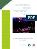 Formation Direction FMA UDAM33 2015