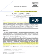 ALE Formulation for Fluid–Structure Interaction Problems