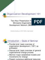 Organization Development 101