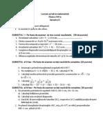 Lucrare Scrisa La Matematica8120122013