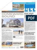 Asbury Park Press front page Thursday, Oct. 2 2014
