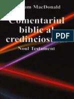 Comentariul Biblic Al Credinciosului NT