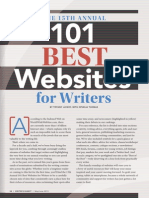 WD 101 Best Websites 2013