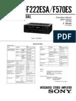 F570ES Manual