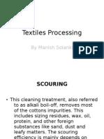 Textiles Processing