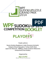 Sudoku Playoffs CB
