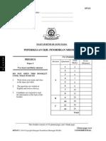 Trial MRSM SPM 2014 Physics K2 No Skema