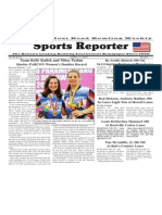 October 1 - 7, 2014 Sports Reporter