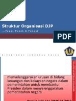 Struktur Organisasi Dan Tupoksi DJP-1