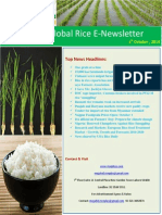 1st October,2014 Daily Global Rice E-Newsletter by Riceplus Magazine