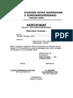 contoh sertifikat pesantren kilat 1.doc