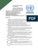 UN Youth Envoy Somalia Visit