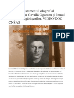Testamentul Lui Ion Gavrilă Ogoranu