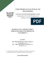 MANUAL DE ENSAYOS PARA PAVIMENTOS