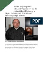 Profanarea Eroului Antibolșevic Aurel Vișovan