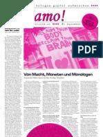 andiamo #1 - Mobilisierungszeitung zum Bologna Gipel im März 2010 in Wien