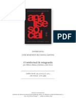 SANTOS, Boaventura. O intelectual de retaguarda..pdf