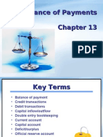 Balance of Payments Chapter 13