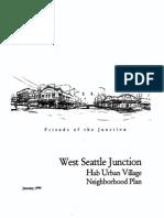 1999 West Seattle Junction Plan