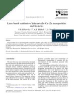 c Cu–Zn Nanoparticles