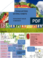 evaluating eating habits