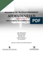 Ahmadinejad & Genocide ?