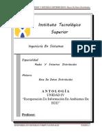 UNIDAD 4 Recuperacion de Informacion en Ambientes de BDD ANTOLOGIA.docx