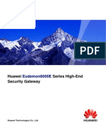 Eudemon8000E High-End Security Gateway Promotion Brochure