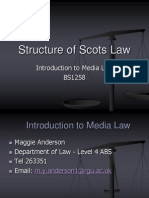 BS1258 Structure of Scots Law (1)