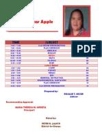 grade 4-star apple