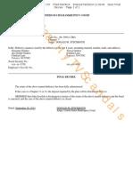 Giudice 9-29-2014 Doc 176 Bankruptcy Case Dismissed.pdf
