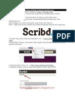 Cara Download Buku Atau Artikel Gratis Di Scribd.docx