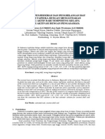 Uji Penjernihan & Penghilangan Bau Limbah Tapioka Dengan Arang Aktif 2