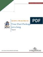 2.3 Tour Package Java.lang