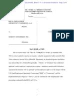 EEOC v Doherty Complaint