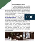 Equipar una oficina con espacios reducidos.doc
