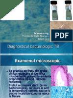 Diagnosticul Bacteriologic TBC